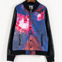 Harajuku Star Tie-Dyed Jacket