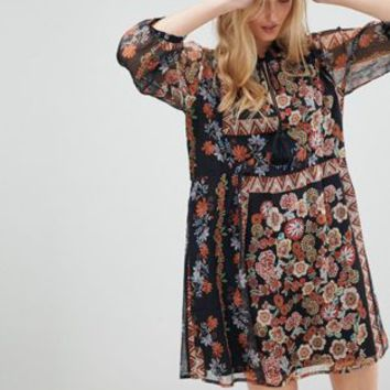 d.Ra Tracey Floral PrintShift Dress at asos.com