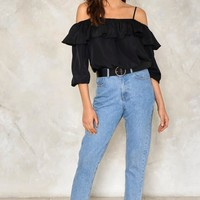 Everywhere Cold Shoulder Top