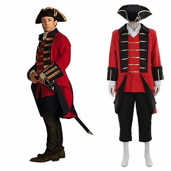 Outlander Jonathan Randall Cosplay Costume Medieval Style Man Uniform Outfit Custom Made
