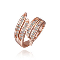 Tiered Design Gold Ring