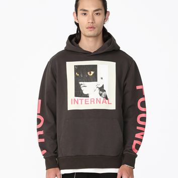 Internal Panther Graphic Hoodie