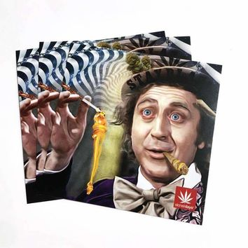 WONKA GLOBSTOPPER STICKERS 3 PACK