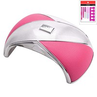 Newest UV LED Nail Lamp 36W Gel Light UV Nail Dryer Curing Lamp (pink)