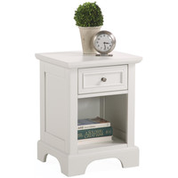 Naples White Nightstand | Overstock.com Shopping - The Best Deals on Nightstands