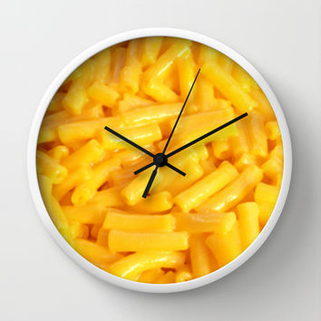 Mac n' Cheese Wall Clock by Jamie Danielle