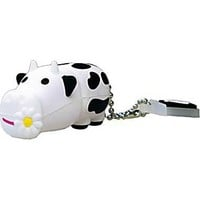 Emtec Animal Collection 4GB USB 2.0 USB Flash Drive (Cow)