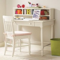 Kids' Desks & Chairs: Kids White Jenny Lind Desk