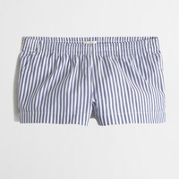 Striped pajama short : FactoryWomen Pajamas | Factory