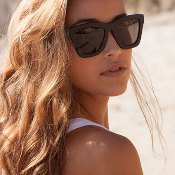 Valley Eyewear DB sunglasses in gloss black