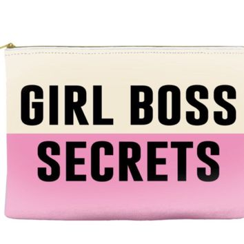 Girl Boss Secrets Travel/Makeup Pouch