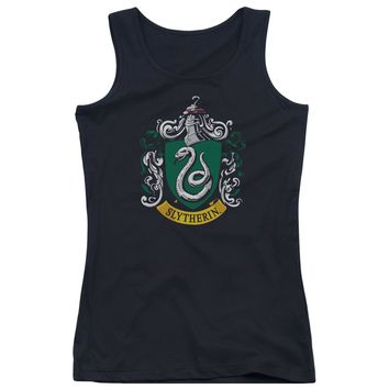 Harry Potter - Slytherin Crest Juniors Tank Top Officially Licensed Apparel