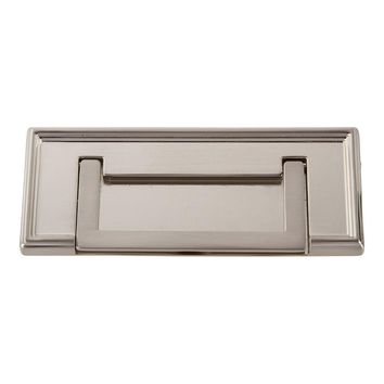 Atlas Homewares Campaign Rope Drop Cabinet Pull with Backplate
