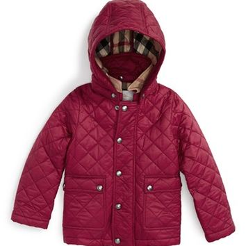 Shop Burberry Quilted Jacket On Wanelo