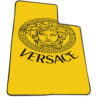 Versace Logo 5e510e1a-6f3b-48b0-ac22-717daeae6e94 for Kids Blanket, Fleece Blanket Cute and Awesome Blanket for your bedding, Blanket fleece *AD*