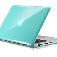 """Osaka ® GLOSSY series Turquoise (special blue) Case / Cover for 13"""" A1278 Aluminum Unibody MacBook Pro (Black keys, 13.3-inch diagonal screen)"""