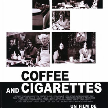 Coffee and Cigarettes (French) 11x17 Movie Poster (2004)