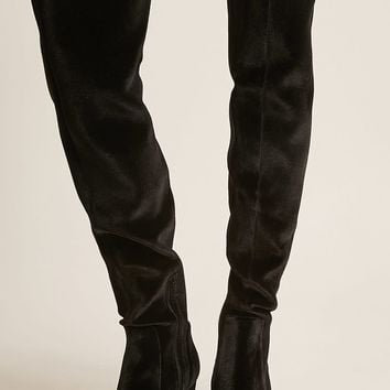 LFL by Lust for Life Velvet Over-the-Knee Boots