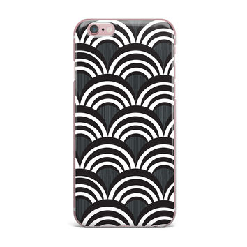 "Nicole Ketchum ""Art Deco Black"" iPhone Case"