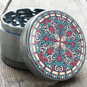 "Herb Grinder | Zenfinite | 2.5"" Custom Grinder - TOTEM™ Series"