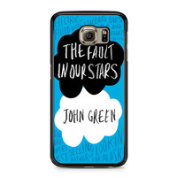 The Fault In Our Stars John Green Samsung Galaxy S6 case