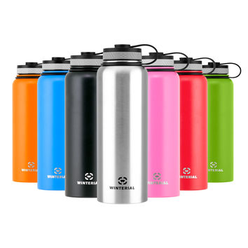 Insulated 40oz Water Bottle