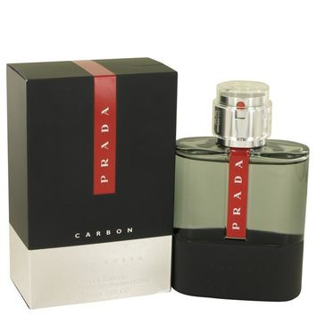 Prada Luna Rossa Carbon by Prada Eau De Toilette Spray 3.4 oz