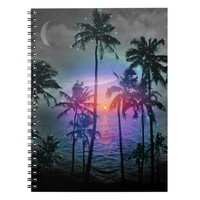 Dream of Paradise (Palm Tree Paradise) Notebook