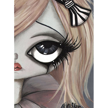 Amellie Fine Art Giclee Canvas Print by Artist Dottie Gleason