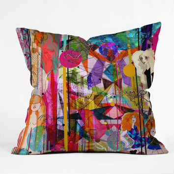 Aimee St Hill Illustration Throw Pillow