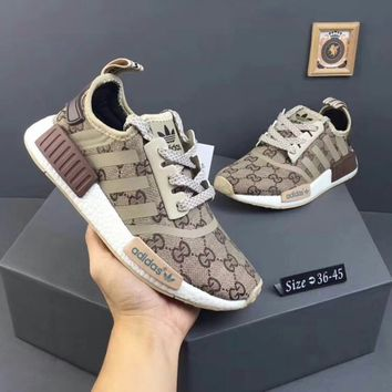 ADIDAS x Gucci NMD Fashion Running Sneakers Sport Shoes