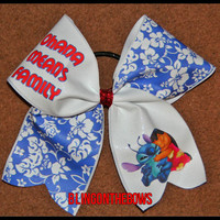 Ohanna means family CHEER bow