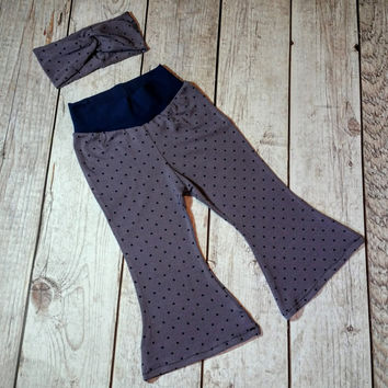 Girls Bell Bottoms Set