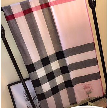 Burberry Women Fashion Cashmere Warm Cape Scarf Scarves