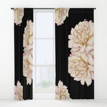 Roses - Lights the Dark Window Curtains by drawingsbylam