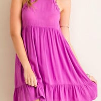Plum Orchid Dress