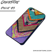 Chevron Wool Case For Iphone 4/4S Case