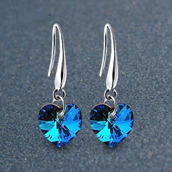 Korean Crystal Earrings [11326613844]