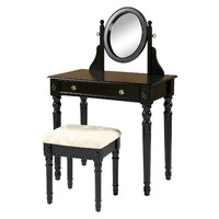 Linon Home Decor Vanity - Black