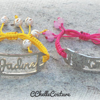 Personalized Baby Bracelet-Personalized Name Bar Bracelet For All Ages