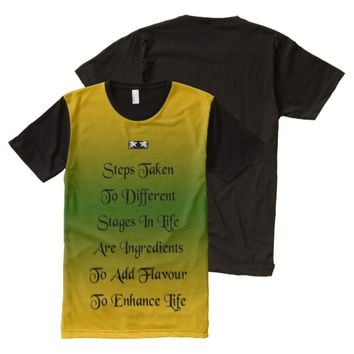 Enhance Quote by Kat Worth Men's All-Over-Print T-Shirt