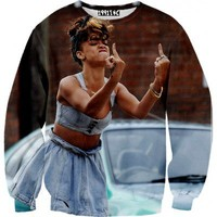 ☮♡ Rihanna Sweater ✞☆