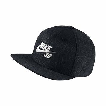 Nike Mens SB Pro Artist GM Adjustable Hat Black/White