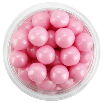 Pearly Pink Sugar Pearls 7MM