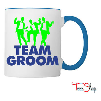 Team Groom e Coffee & Tea Mug