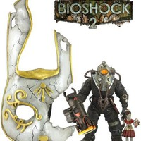 BioShock 2 Subject Omega & Little Sister with Bunny Splicer Mask Gift Pack Figure