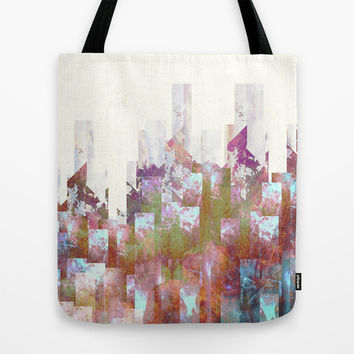 Dead cities Tote Bag by HappyMelvin