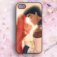 Disney Ariel Mermaid iPhone 5s,Ariel and Eric Disney Couples iphone 5/5c Case,Princess and Prince Samsung Galaxy S3 S4 S5 Case,iPhone 4/4s