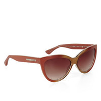 Pink BCBG Retro Cat-Eye Sunglasses