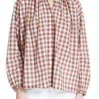THE GREAT. The Handsome Button-Up Shirt   Nordstrom